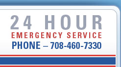 24 Hour Emergency Service - Phone - 708-460-7730
